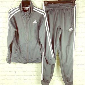 Adidas Track Suit Sz 10/12 Kids
